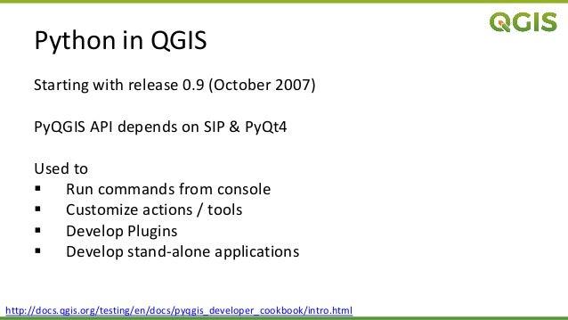 QGIS Processing at Linuxwochen Wien / PyDays 2017