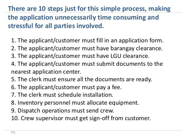 processing application forms with business process workflows