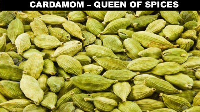 Processing of Pepper and Cardamom