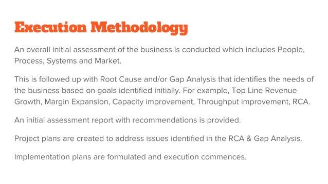 Execution Methodology