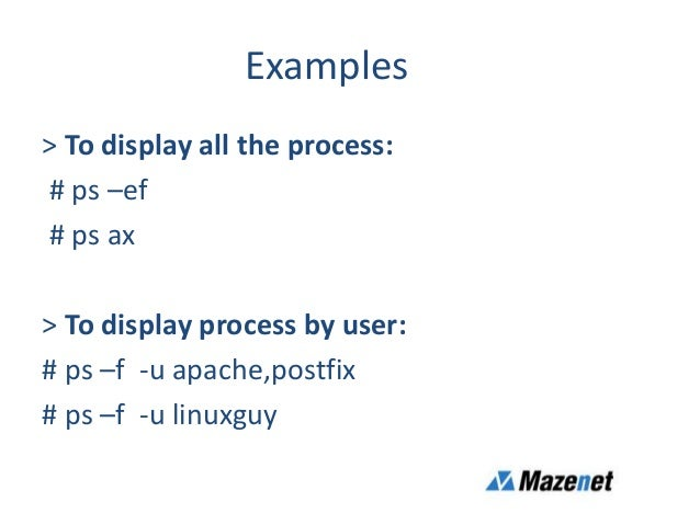 Process Management In Linux