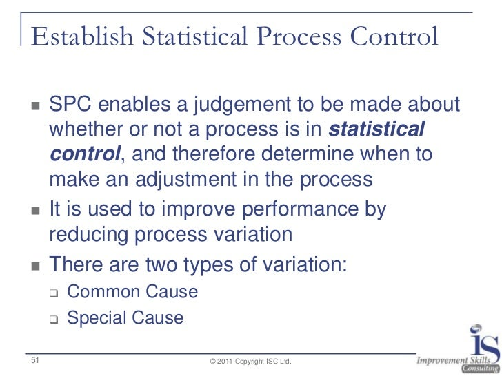 introduction to statistical process control pdf