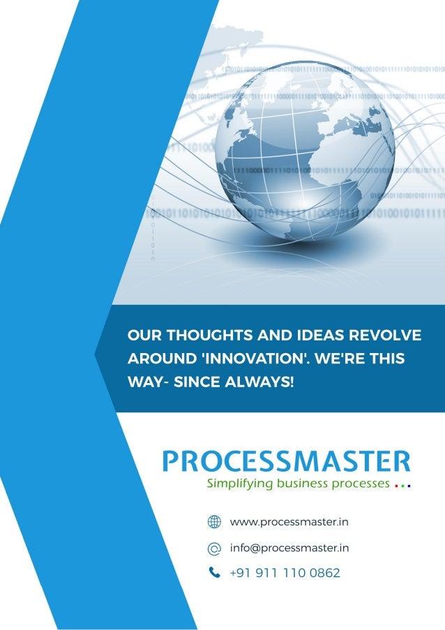 PROCESS MASTER TECHNOLOGIES PVT. LTD.