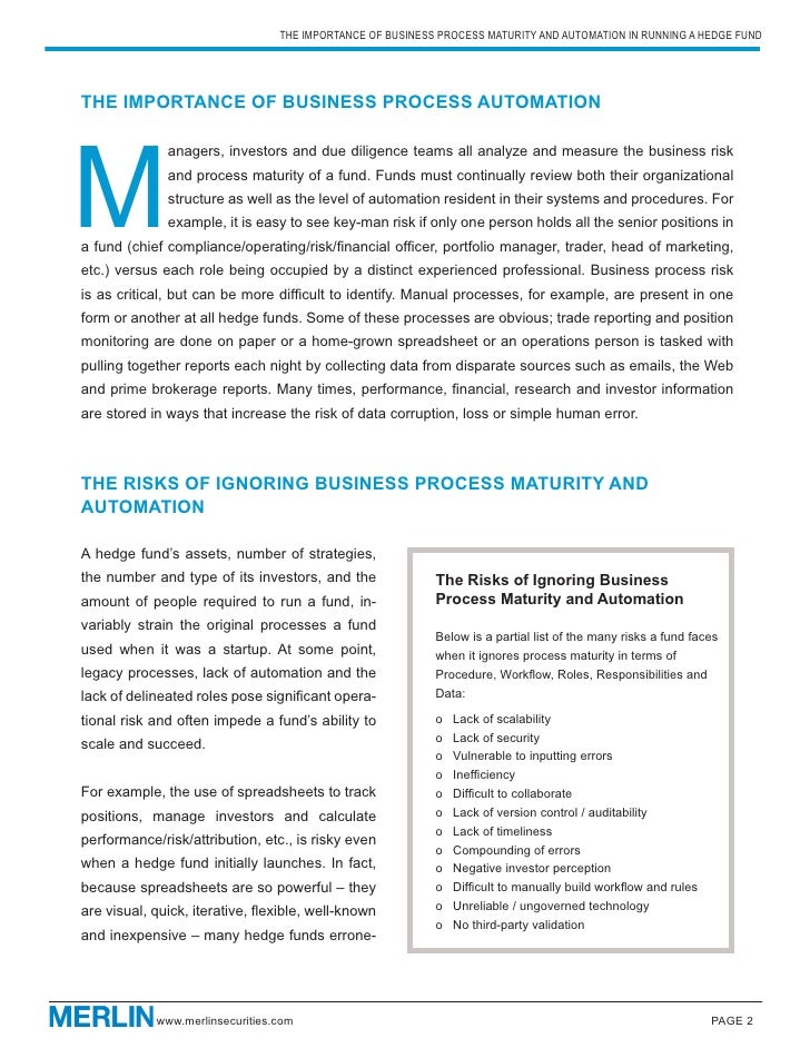 The Importance and Benefits of Business Process Automation