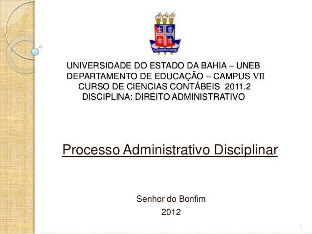 UNIVERSIDADE DO ESTADO DA BAHIA – UNEBDEPARTAMENTO DE EDUCAÇÃO – CAMPUS VII  CURSO DE CIENCIAS CONTÁBEIS 2011.2   DISCIPLI...