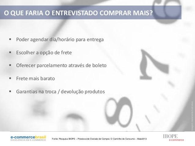 ImagemmeramenteilustrativaFonte: Pesquisa IBOPE – Processo de Decisão de Compra: O Caminho do Consumo – Maio2013 Poder ag...