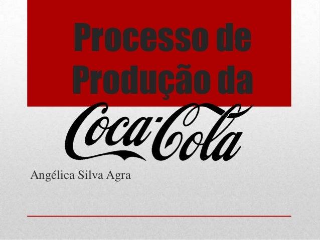 Processo de       Produção daAngélica Silva Agra