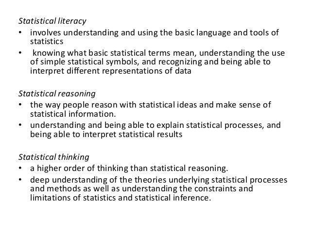 Process Of Doing Statistics