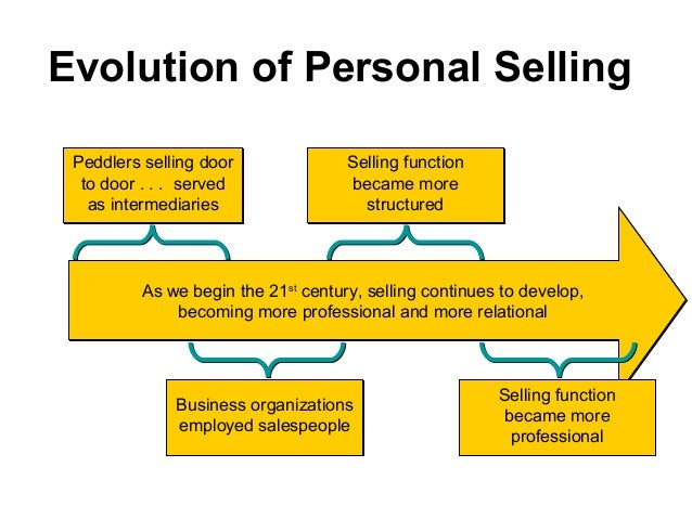 what is personal selling pdf