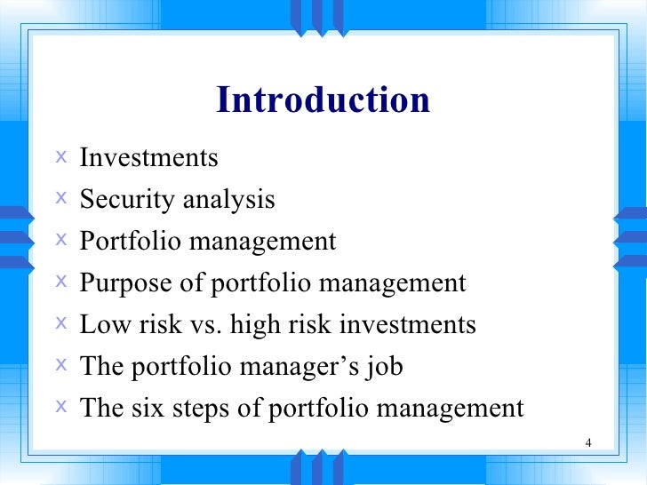 security analysis portfolio management fundamental The second edition of the book on security analysis and portfolio management covers all the areas relevant to the theme of investment in securities it begins with an.