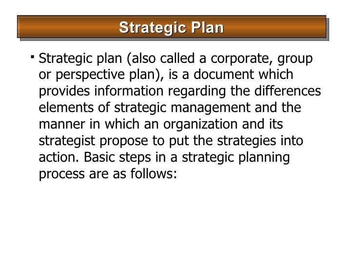 strategic choice plan The bedrock of any successful strategic plan is a warts-and-all consideration of capabilities and strengths, weaknesses and limitations information, both objective and subjective, must.