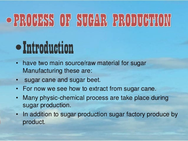 an overview of sugar cane production in cuba Sugarcane mechanical harvesting: future applications in the sustainable sugarcane production that would cuba in the 1950s had cane yield.