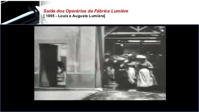 Saída dos Operários da Fábrica Lumière [ 1895 - Louis e Auguste Lumière]