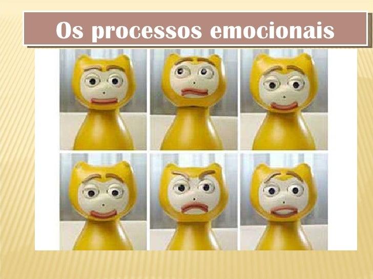 Os processos emocionais