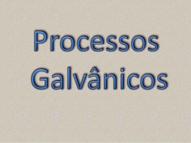 O que é o Processo Galvânico? A galvanoplastia é um processo químico ou eletroquímico de deposição de uma fina camada de ...