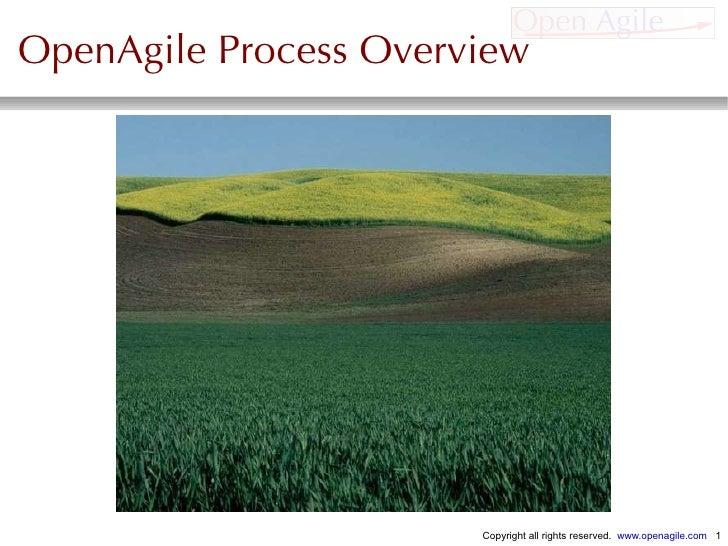 OpenAgile Process Overview