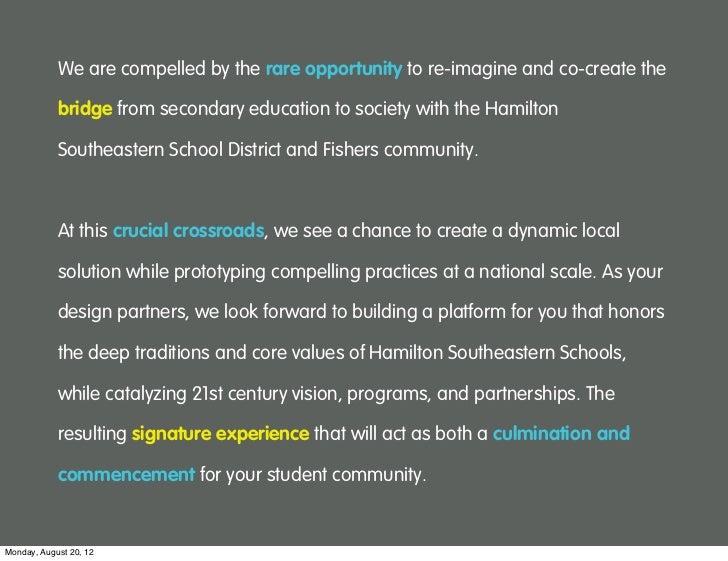 Hamilton Southeastern Schools || Process Overview || August 2012 Slide 3