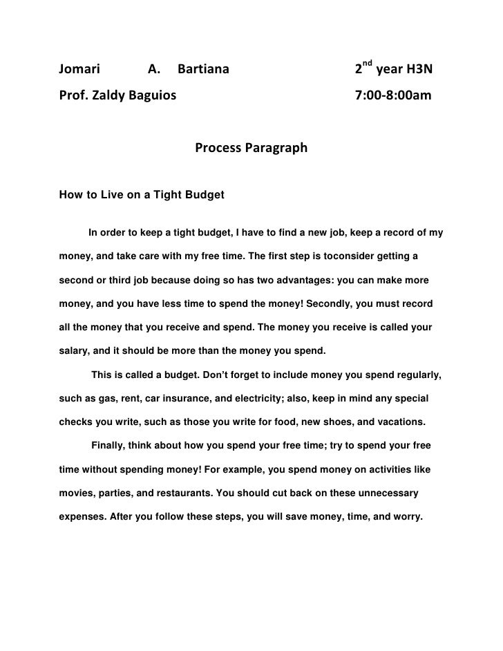 process paragraph Approaches to process writing dear graham thanks it is very helpful and ill use these techniques in the class log in or register to post comments.
