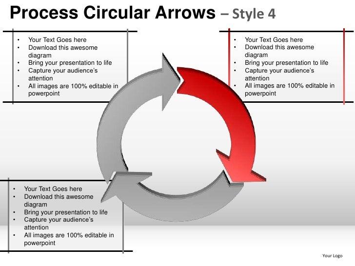 process planning steps smart arts circular arrows 4 powerpoint presen…, Modern powerpoint
