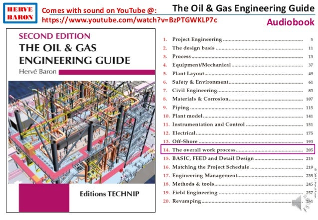 ©2016–HervéBaron HERVE BARON The Oil & Gas Engineering Guide Audiobook Comes with sound on YouTube @: https://www.youtube....