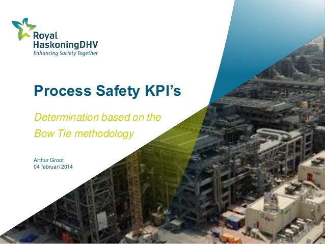Process Safety KPI's Determination based on the  Bow Tie methodology Arthur Groot 04 februari 2014