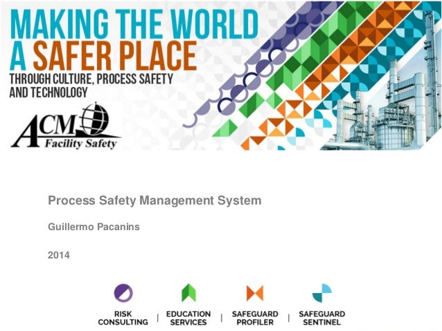 Process Safety Management System Guillermo Pacanins 2014