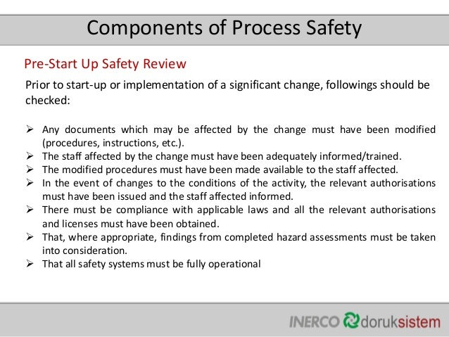 Process safety managment manufacturer recommendations 24 pronofoot35fo Image collections