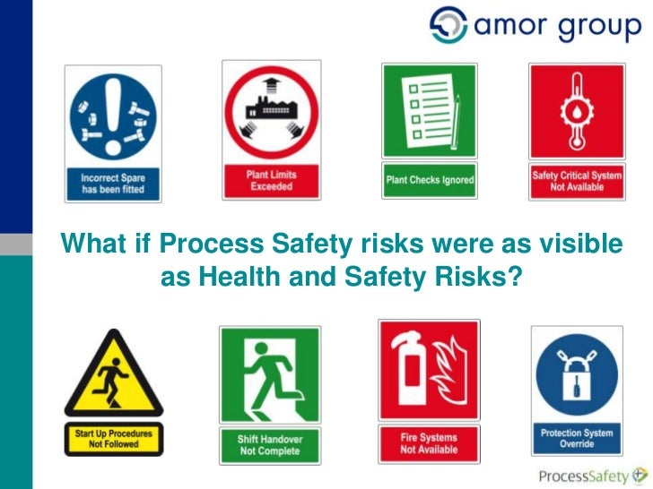 What if Process Safety risks were as visible        as Health and Safety Risks?                                      © Amo...