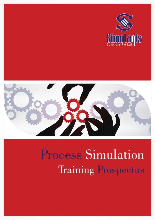 Solutions Pvt Ltd Process Simulation Training Prospectus