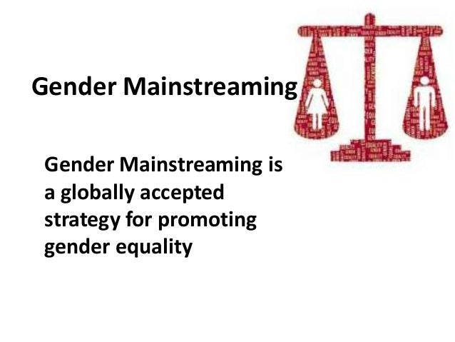 Process To Develop Gender Mainstreaming Action Plan