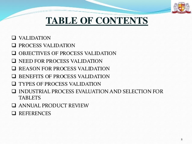 thesis on process validation of tablets Process validation of clopidogrel bisulphate 75 mg validation of clopidogrel bisulphate 75 mg in tablets was process validation is a requirement of.