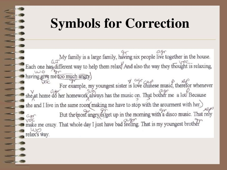 abbreviations for essay corrections Simple rules for acronyms in essays last week, five clients asked me questions about acronyms in essay writing i didn't realize how many rules there are.