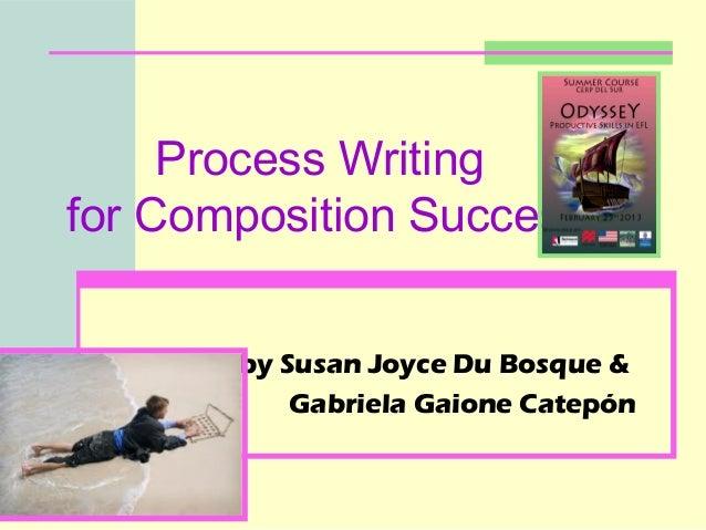 Process Writingfor Composition Success       by Susan Joyce Du Bosque &           Gabriela Gaione Catepón