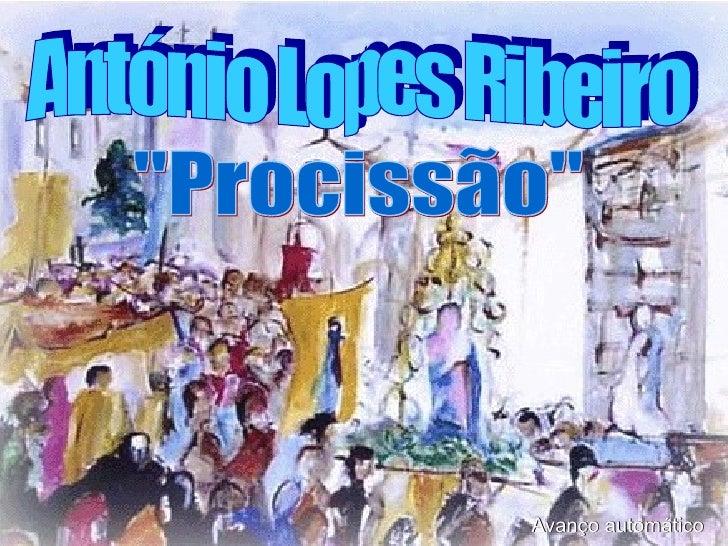 """Avanço automático António Lopes Ribeiro """"Procissão"""""""