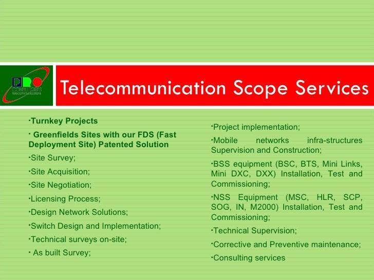 proconsultores telecommunication presentation, Powerpoint templates