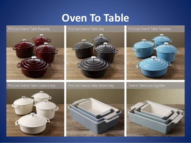 Superbe Table Ware; 8.