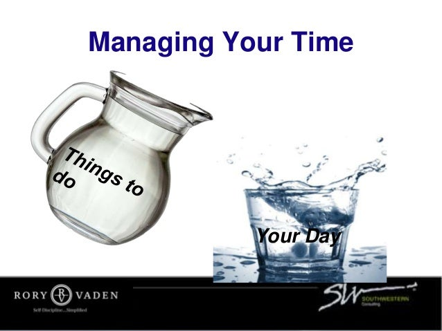 Managing Your Time Your Day