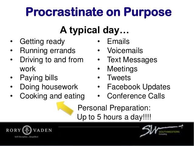 Procrastinate On Purpose Full Keynote Stripped