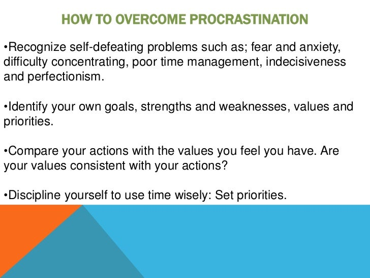 10 Foolproof Tips for Overcoming Procrastination - PsyBlog
