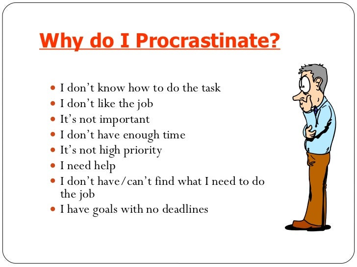 why o we procrastinate Ready to overcome procrastination read this article to learn what researchers discovered about why our brains procrastinate (and what to do about it).