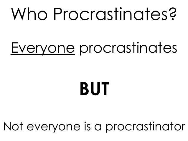 Procrastination Powerpoint2