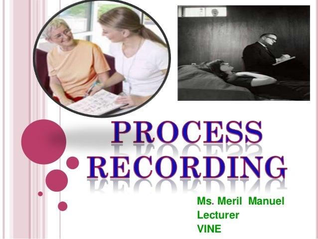 Ms. Meril Manuel Lecturer VINE