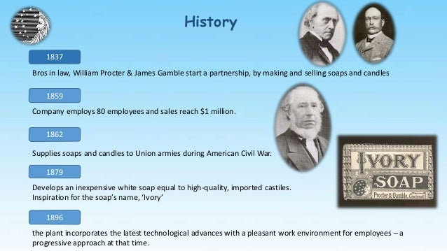 history of procter and gamble Discover the meaning of the gamble name on ancestry find your family's average life expectancy, most common occupation, and more  gamble family history.