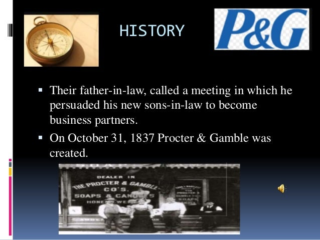 a company overview of proctor gamble and its global operations The main philosophy behind the successful progression of the company is that besides cashing its global  company's operations are  procter & gamble.