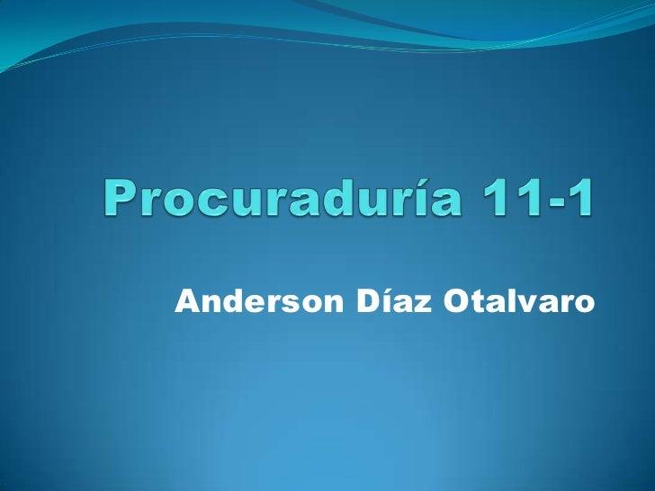 Anderson Díaz Otalvaro