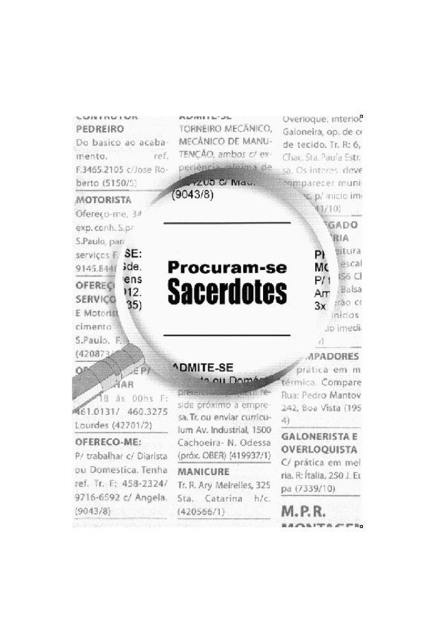 """PROCURAM-SE SACERDOTES !! Por Derek Prince www.ruach.com.br 1 PROCURAM-SE SACERDOTES !! UM PROPÓSITO ETERNO """"E Melquisedeq..."""