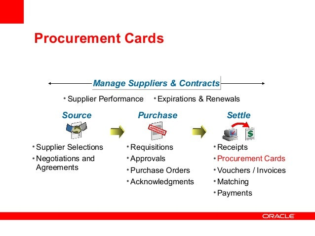 procure to pay best practicesP Card Process Flow Chart #5