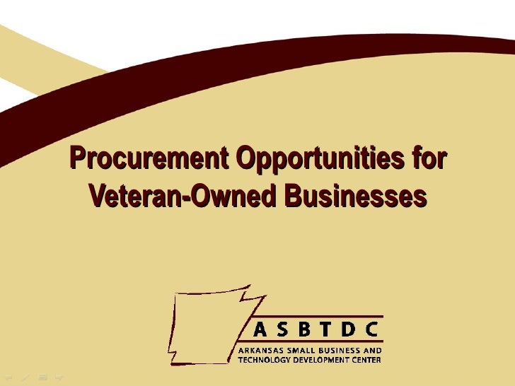 Procurement Opportunities for Veteran-Owned Businesses