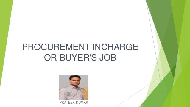 Image result for Procurement Incharge
