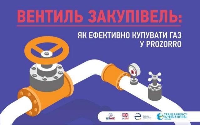 """Як закуповували газ через """"ProZorro"""" у 2018 році: дослідження Transparency International Ukraine"""